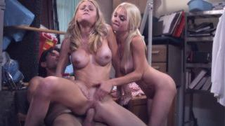 Jesse Jane and Riley Steele threesome