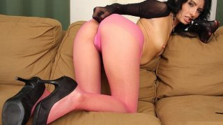 Pantyhose legs covered hot legs Monca masturbation