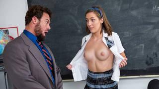 New girl in school asking favors