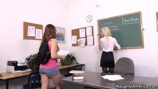Lesbian Teacher