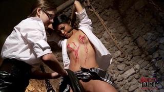 Sweet schoolgirls having sex feat. Tina Kay