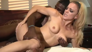 Black dick for a blonde