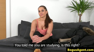 Real casted euro with booty pussyfucked