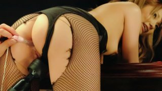 Cute av model Sena Aragaki is showing off a pooltable when the photographer decides to bang his...
