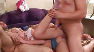 Darling is getting fucking from two guys