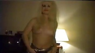 Hairy Blonde Stripping Classic