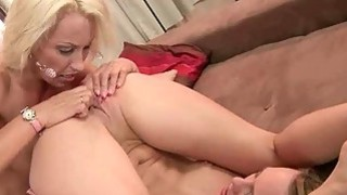 Mature blonde loves Blue Angel