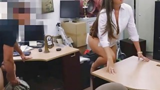 Lovely hot tie getting her pussy banged