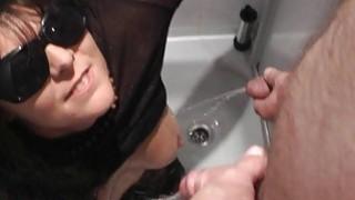 Pissing on naughty slutwife