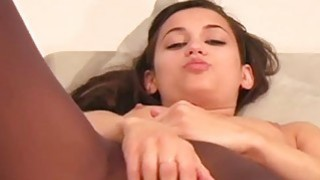 Wicked nympho in pantyhose demonstrates good gap