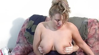 MMV FILMS Busty Chubby Mature wants cock