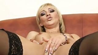 Shaved Pussy Dildo Masturbation HD