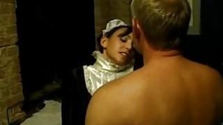 Horny maid needs sex