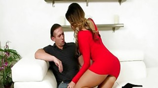 Woman in control as the help is seduced