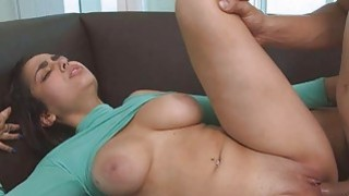 Bruno pounded her perfect pussy hard