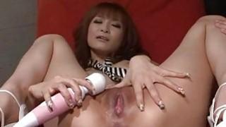 Misa Kikouden loves cracking her pussy in harsh ways