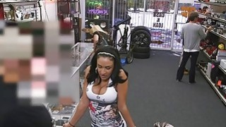 Latina With Big Tits Needs Cash At The Pawnshop