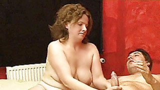Chubby amateur housewife homemade fuck action