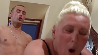 Old Bitch Likes Younger Dick