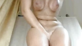 Her Vibrator Reacts To The Sound Of Tits