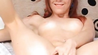 Redhead Teen With Glasses Fingering