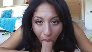 Playgirl is sucking guys third leg passionately