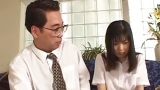 Anna sexy Asian babe enjoys pussy licking