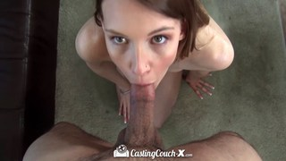 Tall and skinny Sophia Wilde porn casting