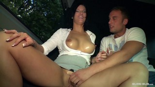 Curvy Austrian Sina fucked in a German bus