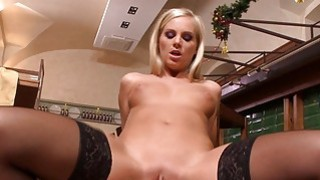 Aletta and Barbie fucked by 2 horny men