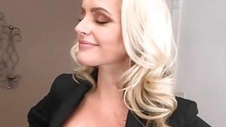 MILF Alena Croft cum sprayed by huge cock