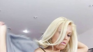 Blonde chick Kenzie Green getting very horny