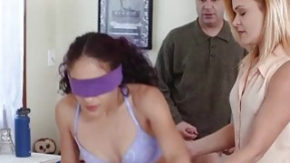 Teen Liv Revamped needs some training from MILF mom to fuck right