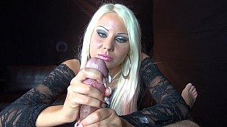 POV handjob mistress