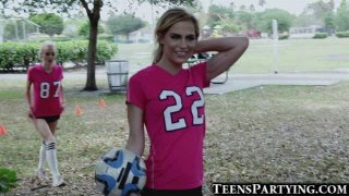 Spying On Hot Soccer Teen Girls