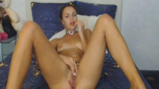 Hot Pussy Masturbation of Horny Hot Babe