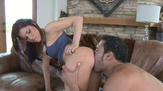 Punky Aleksa Nicole getting rimjob and riding cock