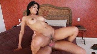 Amazingly hot Mexican slut Gabby Quinteros getting slammed
